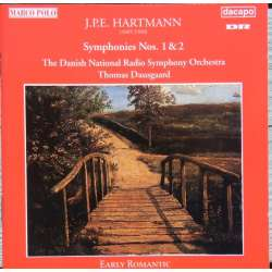 JPE. Hartmann: Symphonies nos. 1 & 2. Thomas Dausgaard, Danish Radio SO. 1 CD. Dacapo