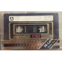 Maxell UDXL II C60. Tape Cassette