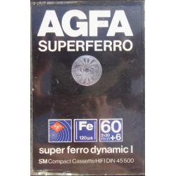 Agfa Superferro 60+6 Tape Cassette.