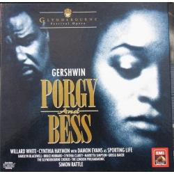 Gershwin: Porgy and Bess, Simon Rattle, White, Haymond. 3 LP. EMI