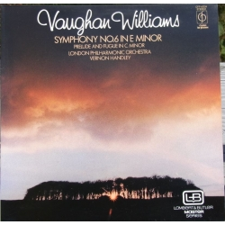 Vaughan Williams: Symfoni nr. 6. LPO. Vernon Handley. 1 LP. EMI. Nyt eksemplar