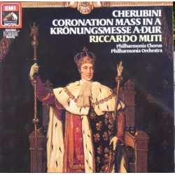 Cherubini: Coronations Mass in A. Riccardo Muti. 1 LP. EMI. New Copy