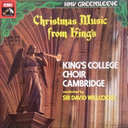 Christmas Music from King´s. King's College Choir, David Willcocks. 1 LP. EMI ESD 7050