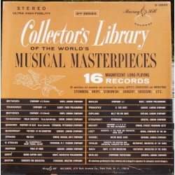 Collectors Library of the World musical masterpieces. Vol. 2. 16 LP Turnabaut