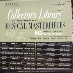 Collectors Library of the World musical masterpieces. 16 LP. Turnabout. Vol. 1