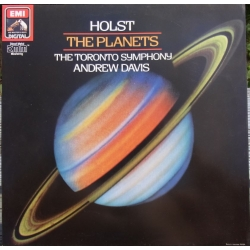 Holst: The Planets. Andrew Davis. Toronto Symphony Orchestra. 1 LP. EMI.
