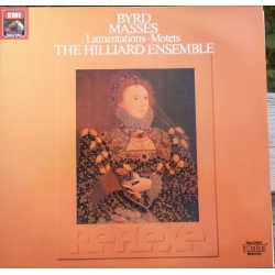 Byrd: Masses. Lamentations. Motets. The Hilliard Ensemble. 2 LP. EMI. Nyt eksemplar