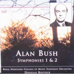 Alan Bush: Symfoni 1 & 2. Douglas Bostock. 1 CD. Classico