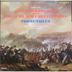 Beethoven: Wellingtons Sejr. Charles Munch, Boston SO. 1 LP. RCA