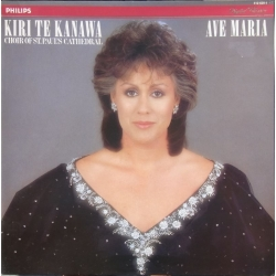 Ave Maria. Kiri te Kanawa. Choir of St. Pauls Cathedral. 1 LP. Philips
