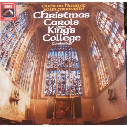 Christmas Carols from King's College. Willcocks & Ledger. 1 LP. EMI.