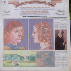 Tchaikovsky: Romeo and Juliet. & 1812 Overture. Ormandy. 1 LP. CBS 31831