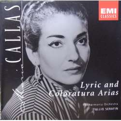 Maria Callas: Lyric and Coloratura arias. 1 CD. EMI