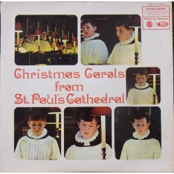 Christmas Carols from St. Paul's Cathedral. J. Dykes Bower. 1 LP. EMI