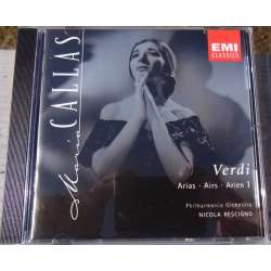 Maria Callas: Verdi arier. Volume. 1. 1 CD. EMI