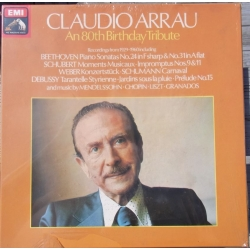 Claudio Arrau. An 80th Birthday Tribute. 3 LP. EMI. RLS 7712 Nyt eksemplar