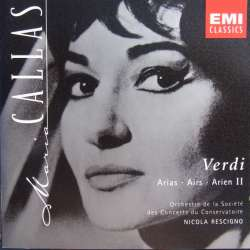 Maria Callas: Verdi arias. Volume. 2. 1 CD. EMI