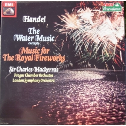 Handel: Music for the Royal Fireworks. Charles Mackerras. 1 LP. EMI