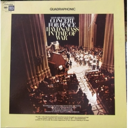 Joseph Haydn: Mass in time of War & Bernstein: Concert for Peace. Leonard Bernstein. 1 LP. CBS 32196
