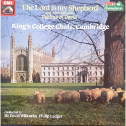 The Lord is my Sheppard. King's College Choir. Willcocks, Ledger. 1 LP. EMI. A brand new copy