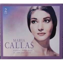 Maria Callas: Popular music from Tv, film and opera. 2 CD. EMI