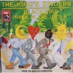 The King's Singers: Blackbird & Back in the USSR. From the Beatles Collection. 1 Vinyl Single.