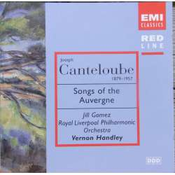 Canteloube: Chants d'auvergene. Gomez, Handley. 1 CD. EMI. Red Line