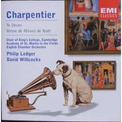Charpentier: Te Deum. + Messe de Minuit pour Noël. King's College choir. Ledger. 1 CD. EMI. Encore