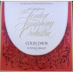 An Evening with LSO. Stephen Bishop, Colin Davis. 4 LP. Philips