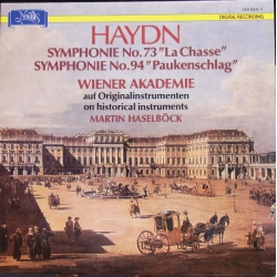 Joseph Haydn: London Trio. & Piano trios nos. 15 and 16. Nicolet, Pilipponi, Canino. 1 LP Novalis