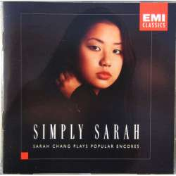 Simply Sarah. Sarah Chang og Charles Abranovic. Værker for violin og klaver. 1 CD. EMI