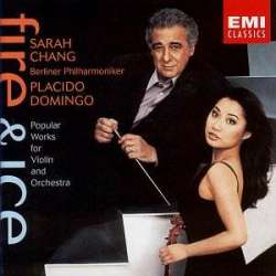 Sarah Chang. 'Fire and Ice'. Violinist. 1 CD. EMI