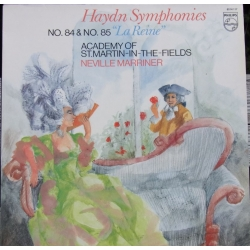 Haydn: Symfoni nr. 84 & 85. Neville Marriner, Academy. 1 LP. Philips. 6514117