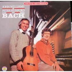 Bach: Værker for guitar og orgel. John Williams & Peter Hurford. 1 LP. CBS 37250