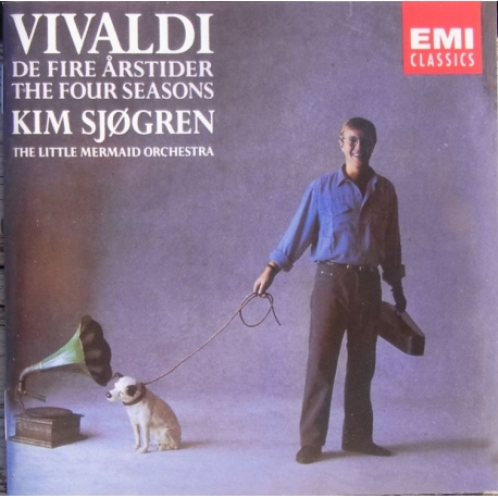 Vivaldi: The four Seasons. Kim Sjögren. Little Mermaid Orchestra. 1 CD. EMI.