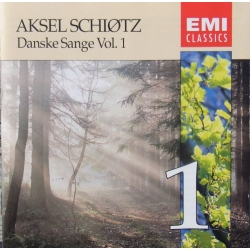 Danish Songs. Vol. 1. Aksel Schiøtz. 1 CD EMI.