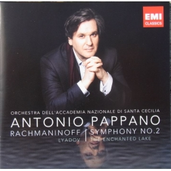 Rachmaninov: Symphony no. 2. & Lyadov: The Enchanted Lake. Antonio Pappano. 1 CD. EMI