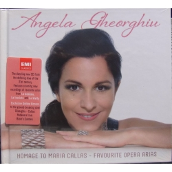 Angela Gheorghiu: Homage to Maria Callas. 1 CD + Book. EMI