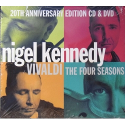 Vivaldi: The four Seasons. Nigel Kennedy. ECO. 1 CD. & 1 DVD. EMI