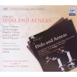 Purcell: Dido and Aeneas. Bostridge, Dessay. Haim. 1 CD. Virgin