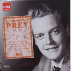 Hermann Prey. A life in Song. 10 cd. EMI