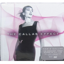The Maria Callas Effect. 2 cd + 1 DVD + Book. EMI. (Deluxe Edition)