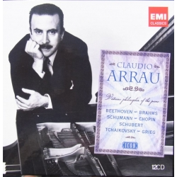 Claudio Arrau: Virtuoso Philosopher of the Piano. 12 cd. EMI