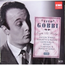 Tito Gobbi: The Complete Solo Recordings. 5 CD. EMI