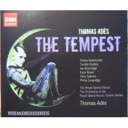 Ades: The Tempest. Sieden, Bostridge, Royal. Thomas Ades. 2 CD. EMI