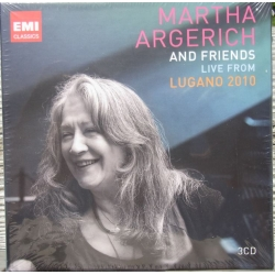 Martha Argerich & Friends: Live from the Lugano Festival 2010. 3 CD. EMI