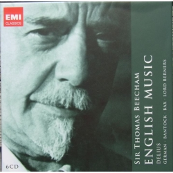 Sir Thomas Beecham conducts English Music. Delius, Bax. 6 CD. EMI