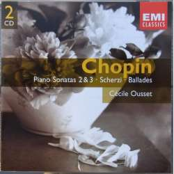 Chopin: Klaversonate nr. 2 & 3. mm. Cecile Ousset. 2 CD. EMI. Gemini