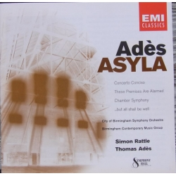 Ades, Thomas: Asyla. Simon Rattle. 1 CD. EMI