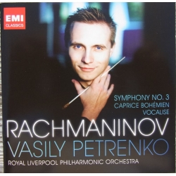 Rachmaninov: Symphony no. 3. + Vocalise + Caprice Bohemien. Vasily Petrenko, Royal Liverpool PO. 1 CD EMI
